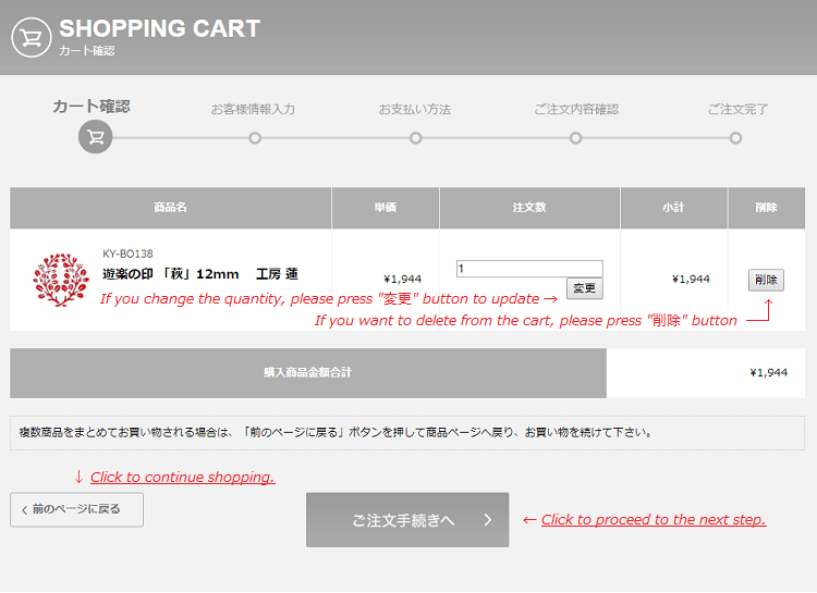 ① shopping cart | kurashi-no-hotorisya